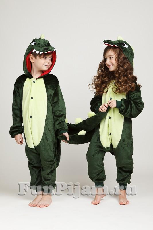 Детское кигуруми Динозавр