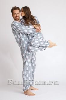Хлопковая пижама комбинезон Топтыгин 69eb9ee037841