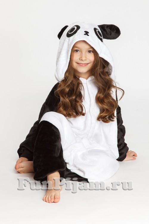 4a22fe151 Детский комбинезон «Панда», купить костюм панды в Москве | ФанПижам.