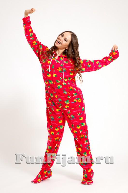 Пижама Комбинезон Интернет Магазин