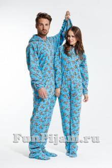 c51a7782c7be9 Купить домашний мужской комбинезон, слитную флисовую пижаму в ...