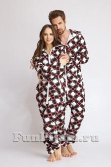 707f426a07a2 Купить пижаму-комбинезон, пижамы для двоих, детский хлопковый ...