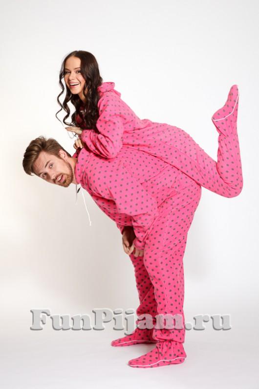 Пижама-комбинезон с ножками