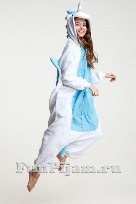 Купить пижаму кигуруми единорог в интернет-магазине ФанПижам 13f5cd1dcdeec