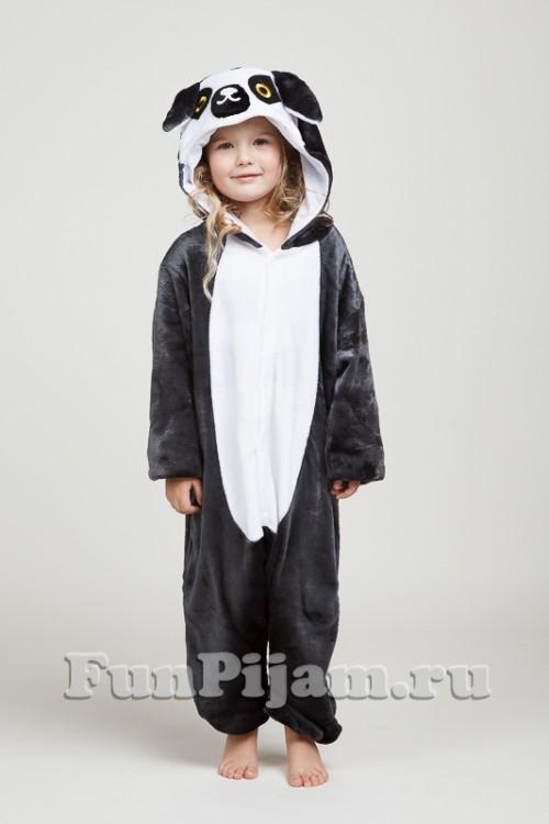 Детская пижама кигуруми Лемур cdf1d901187d2